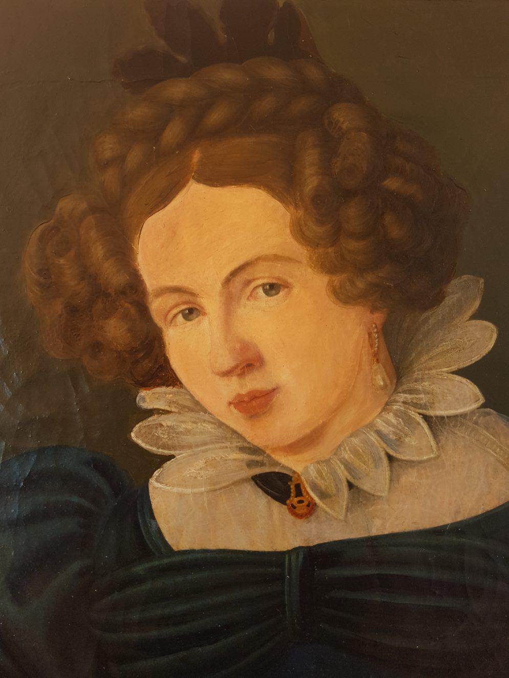 Detail Portrait German elegant young lady