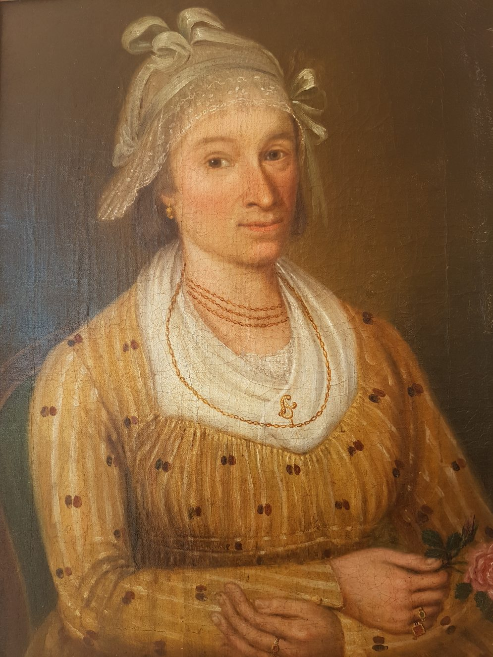 European paintings - Female pendant of the male Italian costume portrait