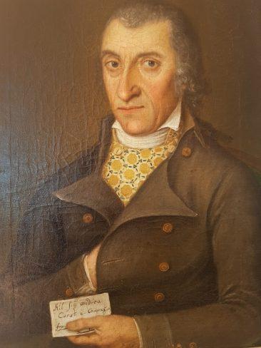 European Paintings: Italian Male Costume Portrait, 18th Century