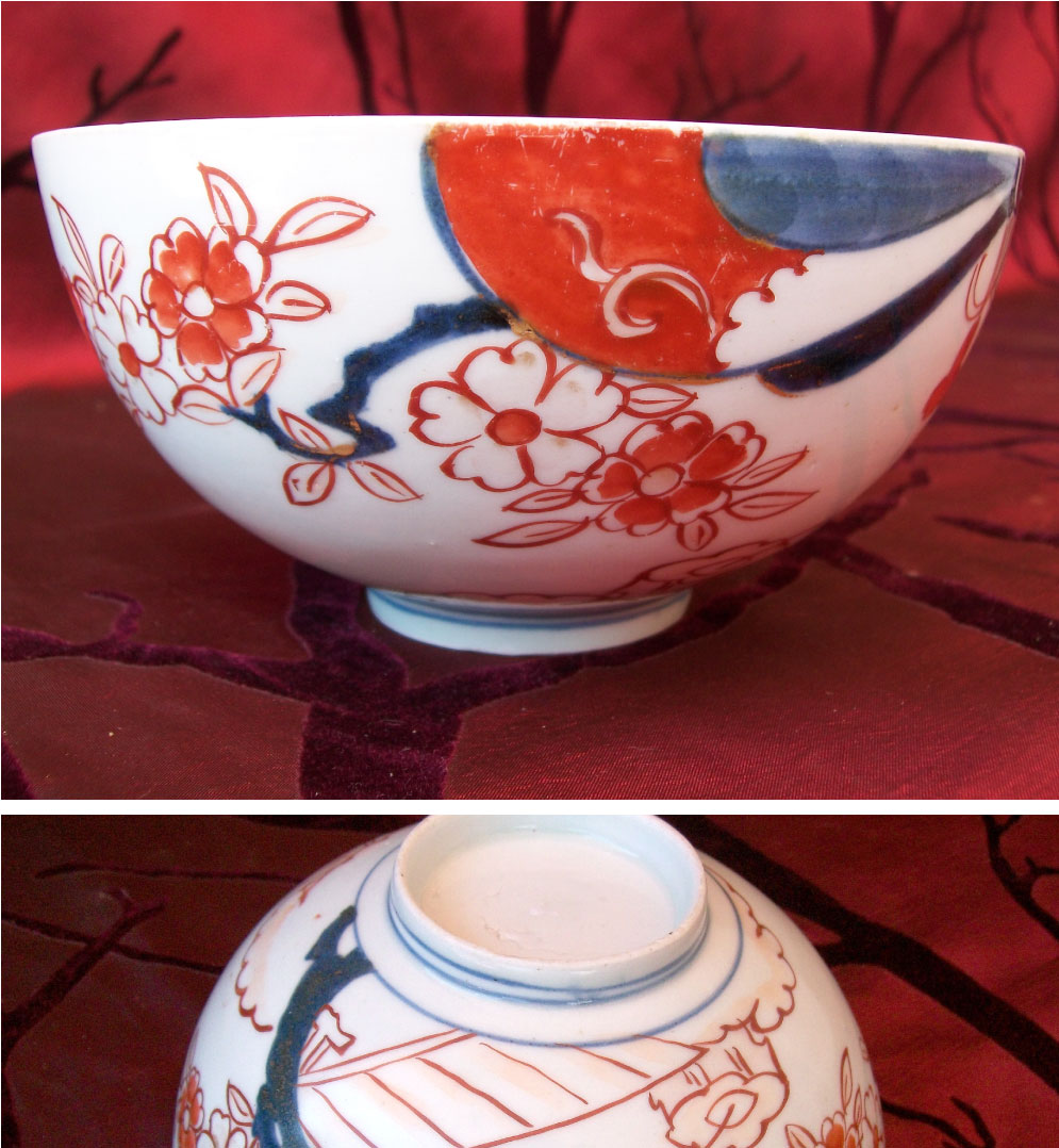 Chien Lung period (1735-1796) Chinese porcelain imari bowl