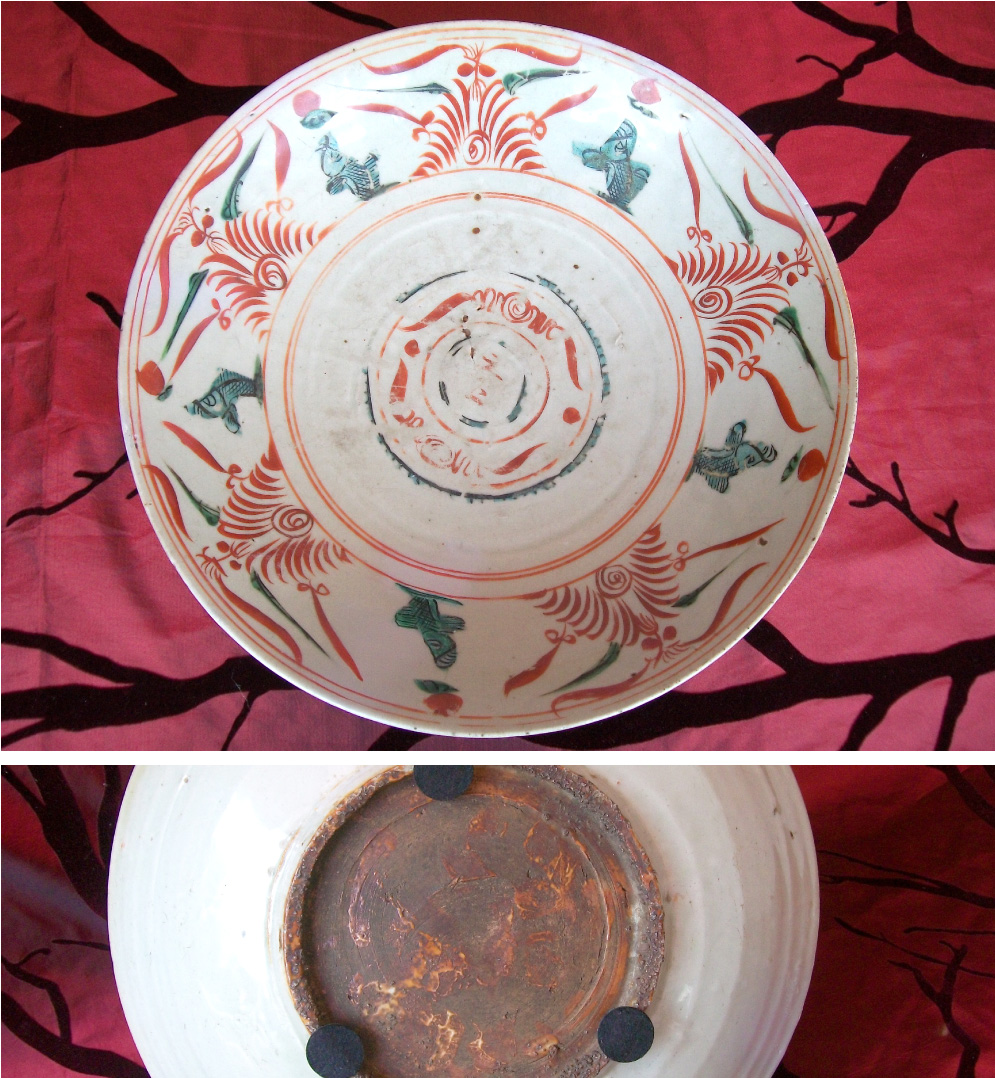 First-half-17th-century-Polygrome-Swatow-or-Zhangzhou-deep-charger
