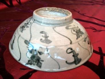 No 92 – Antique Chinese Zhangzhou Porcelain Bowl, 17th Century