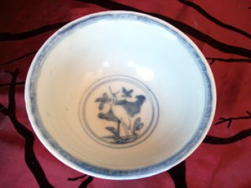 No 78 – Chinese Zhangzhou Porcelain Bowl, 17th or 18th Century