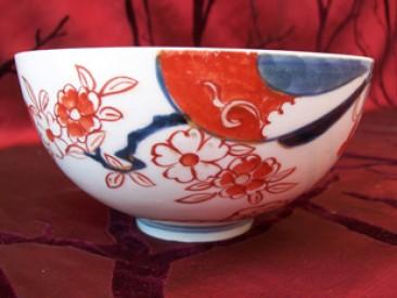 No 90 – Antique Chinese Porcelain Imari Bowl, Chien Lung Period (1735-1796)
