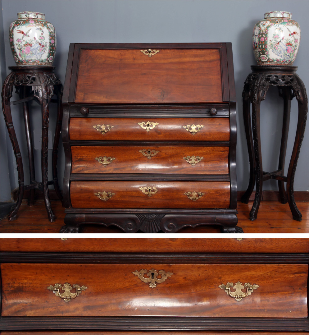 Dutch-colonial-bombe-bureau-Camphor-wood-and-indian-rosewood