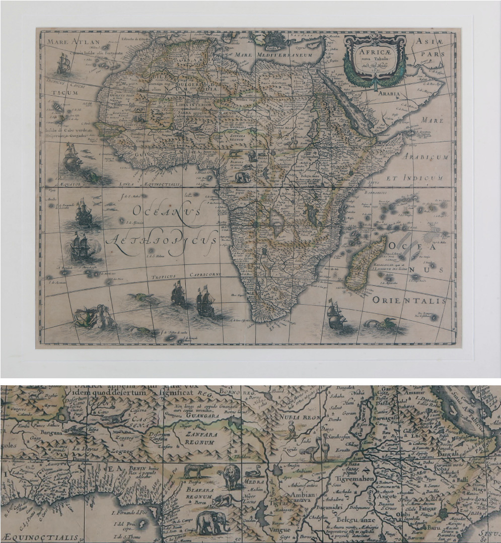 map-of-Africa-edited-by-Abraham-Hondius-Amsterdam